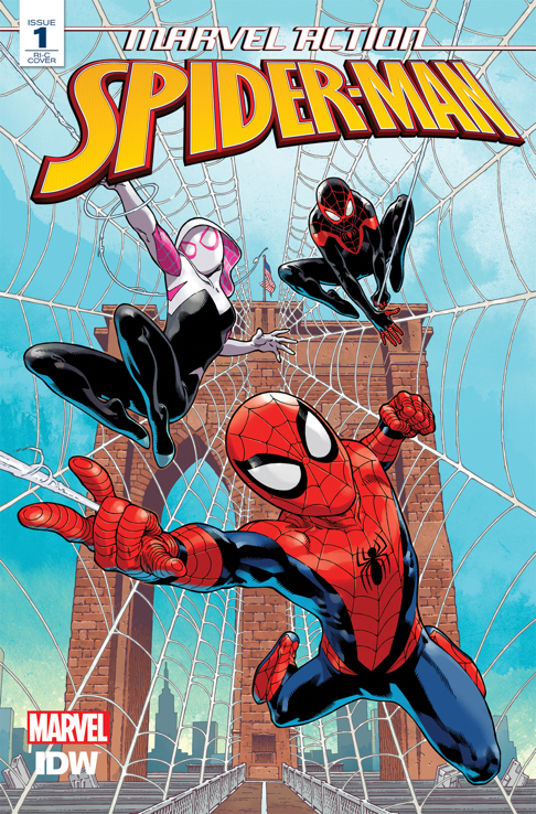 SPIDER-MAN (IDW) #1 100 COPY INCV