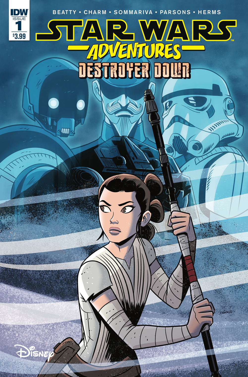 STAR WARS ADVENTURES #1 (OF 3) DESTROYER DOWN