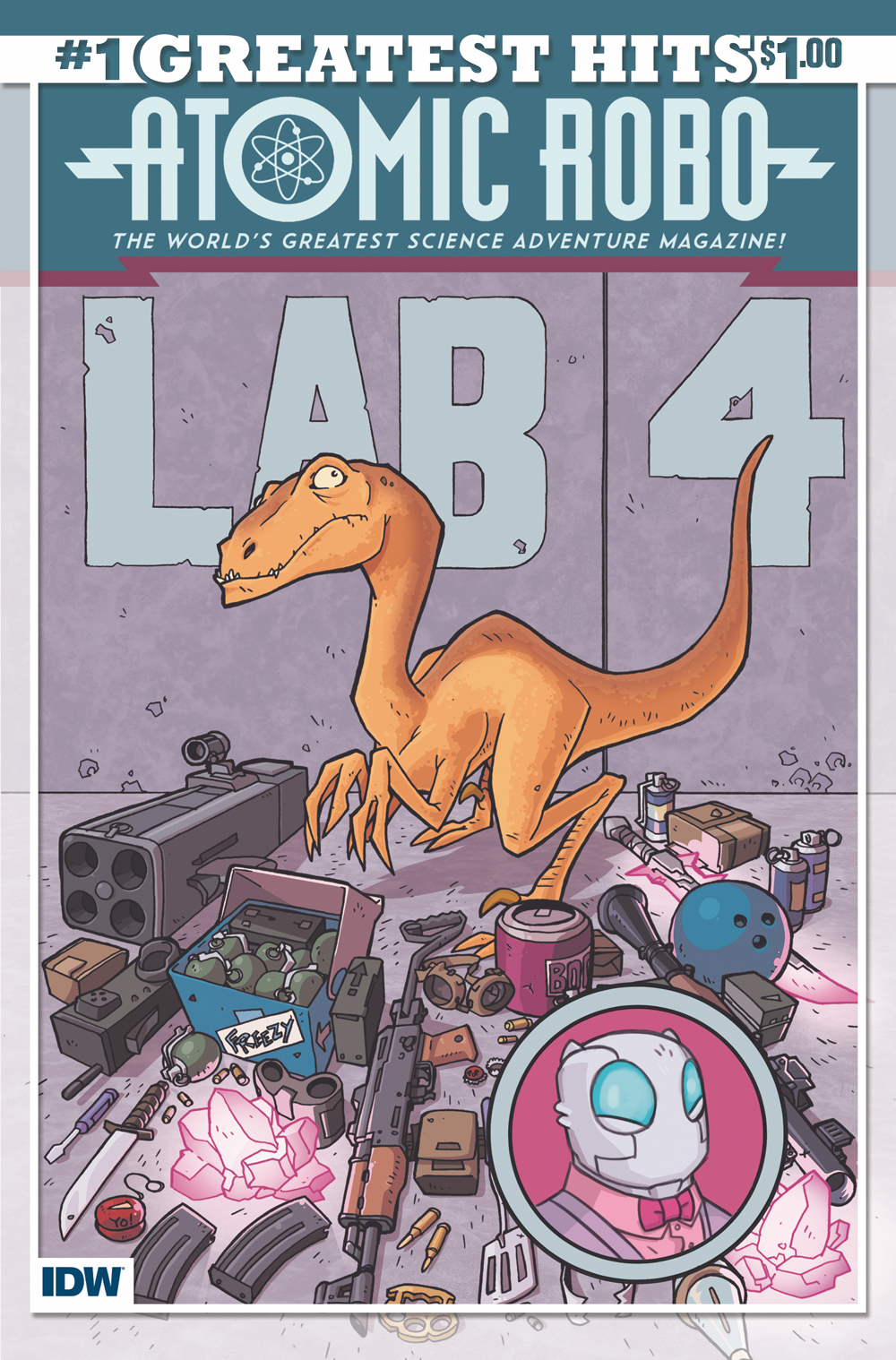 ATOMIC ROBO GREATEST HITS