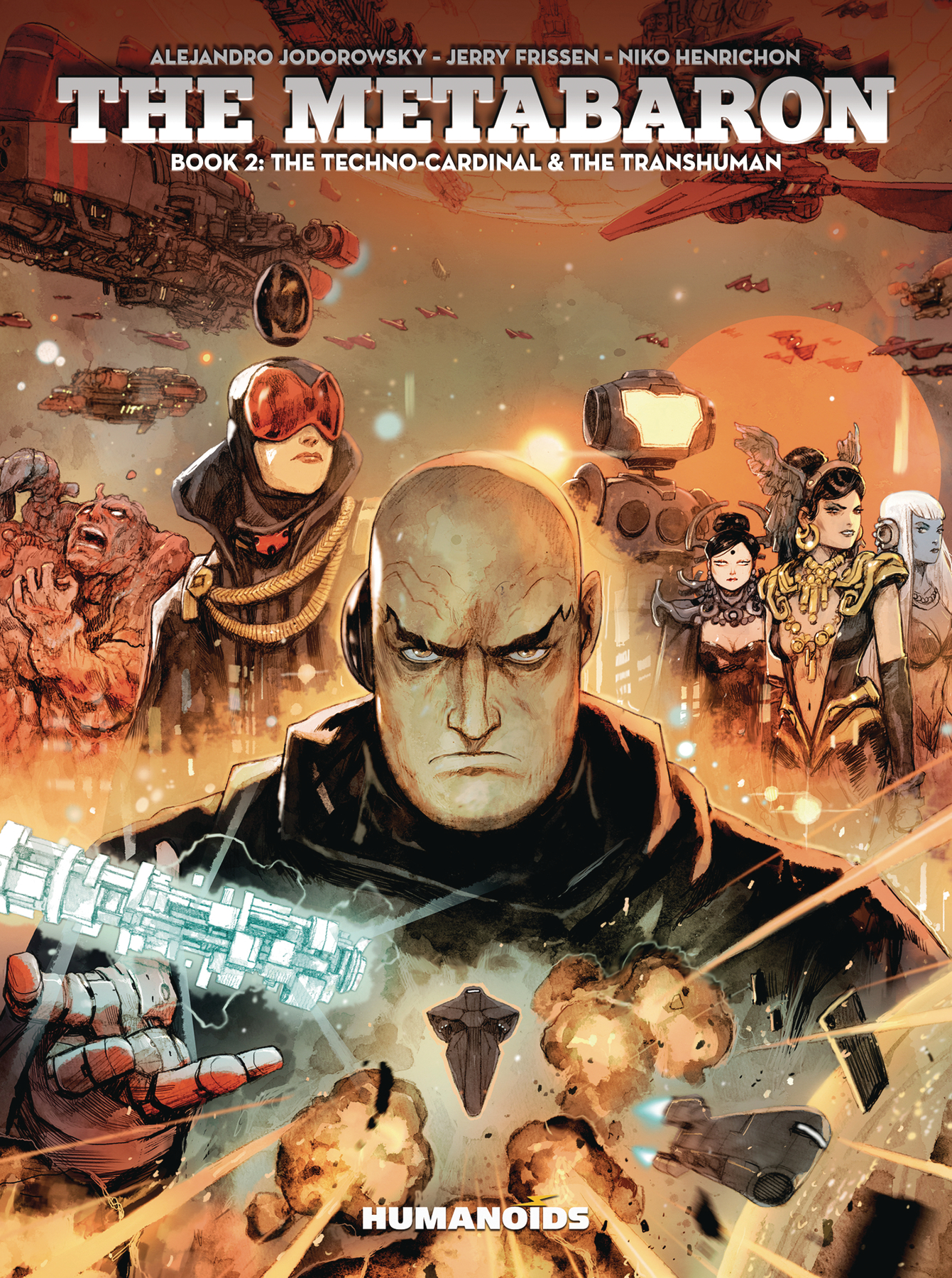 METABARON GN VOL 02 TECHNO CARDINAL TRANSHUMAN (MR)