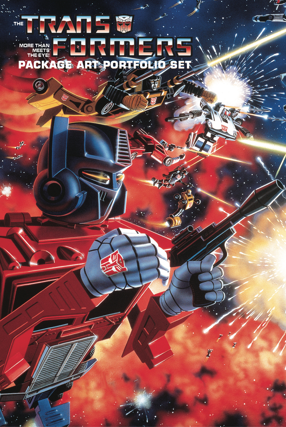 TRANSFORMERS PACKAGE ART PORTFOLIO