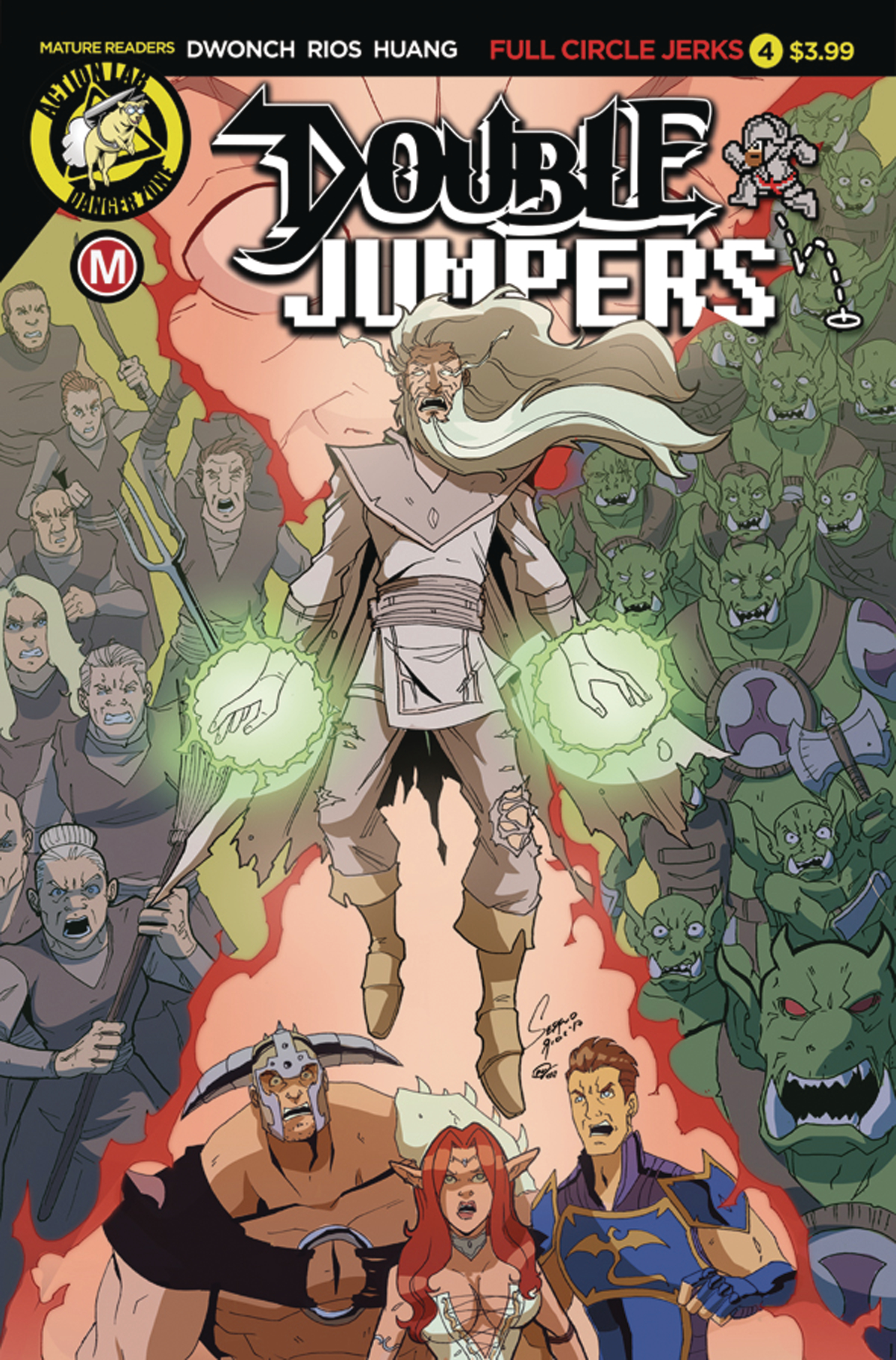 DOUBLE JUMPERS FULL CIRCLE JERKS #4 (OF 4) CVR A RIOS (MR)