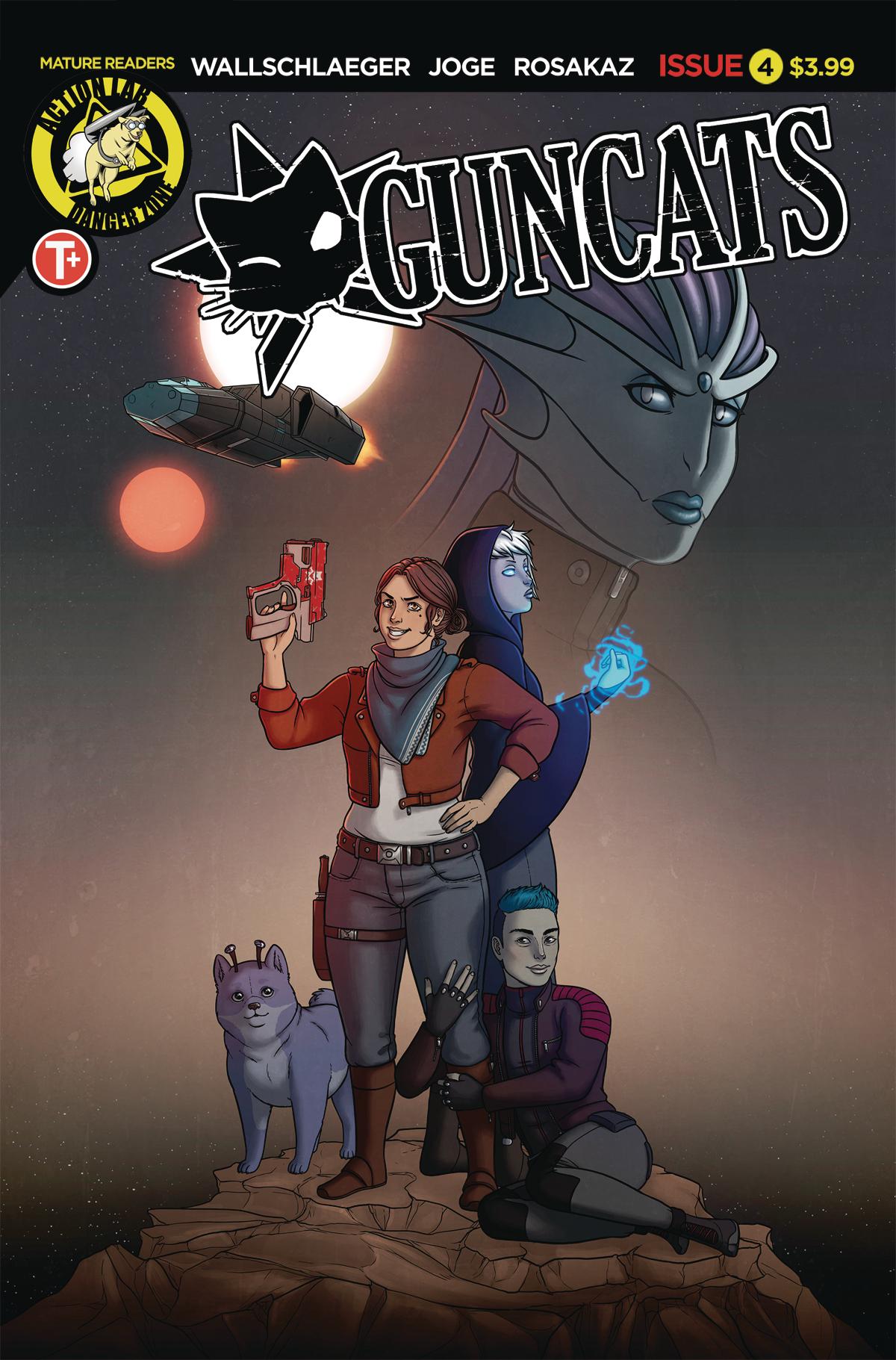 GUNCATS #4 (MR)