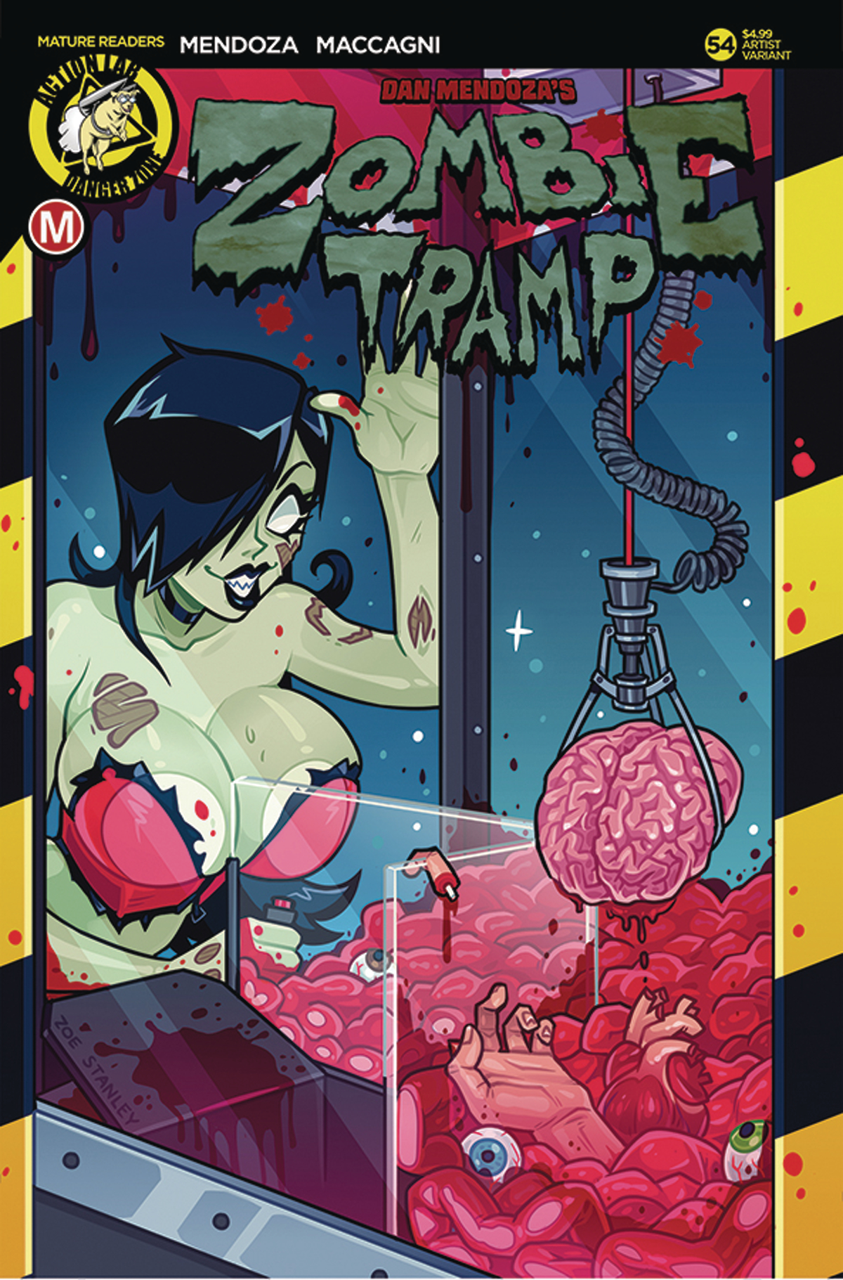 ZOMBIE TRAMP ONGOING #54 CVR C STANLEY (MR)
