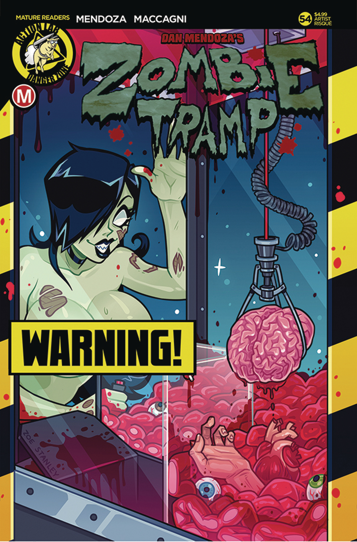ZOMBIE TRAMP ONGOING #54 CVR D STANLEY RISQUE (MR)