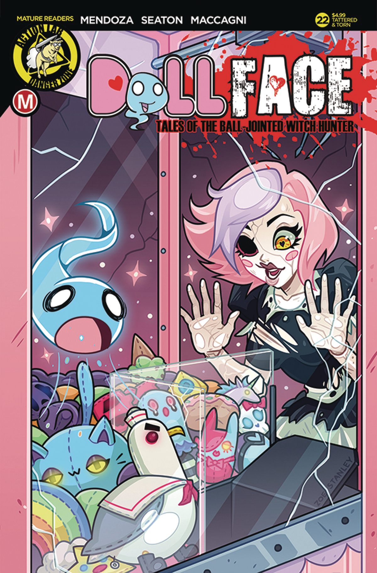 DOLLFACE #22 CVR B STANLEY RISQUE (MR)