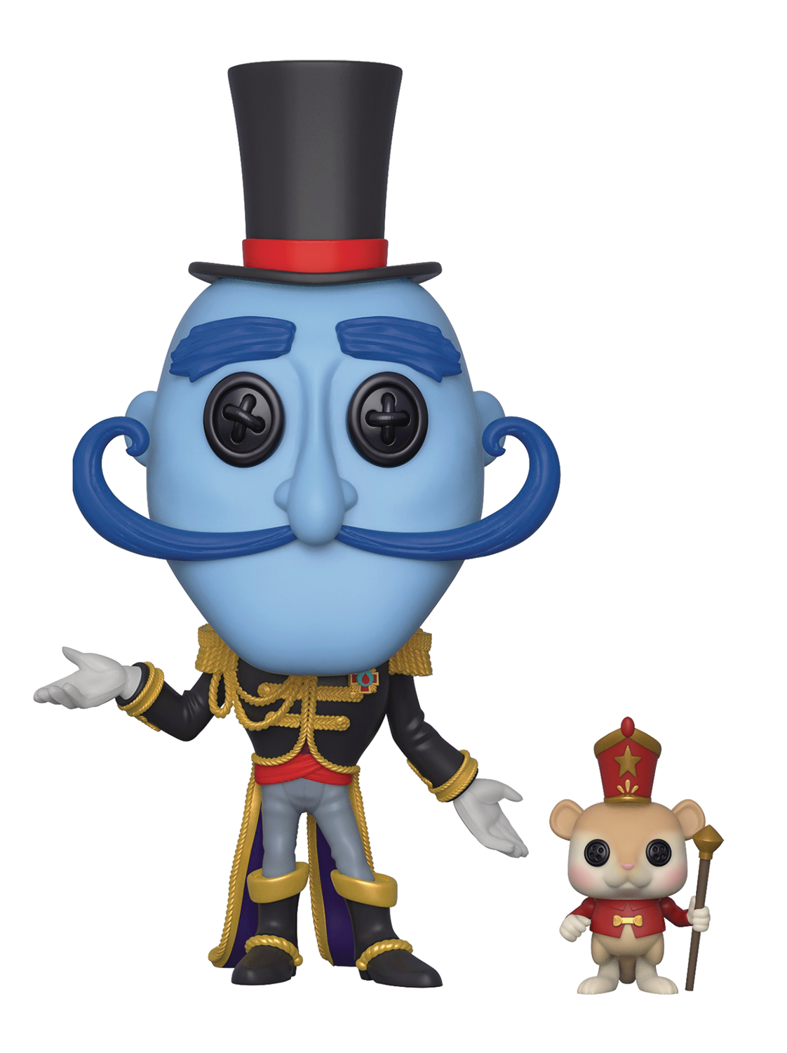 POP MOVIES CORALINE MR BOBINSKY WITH MOUSE VIN FIG