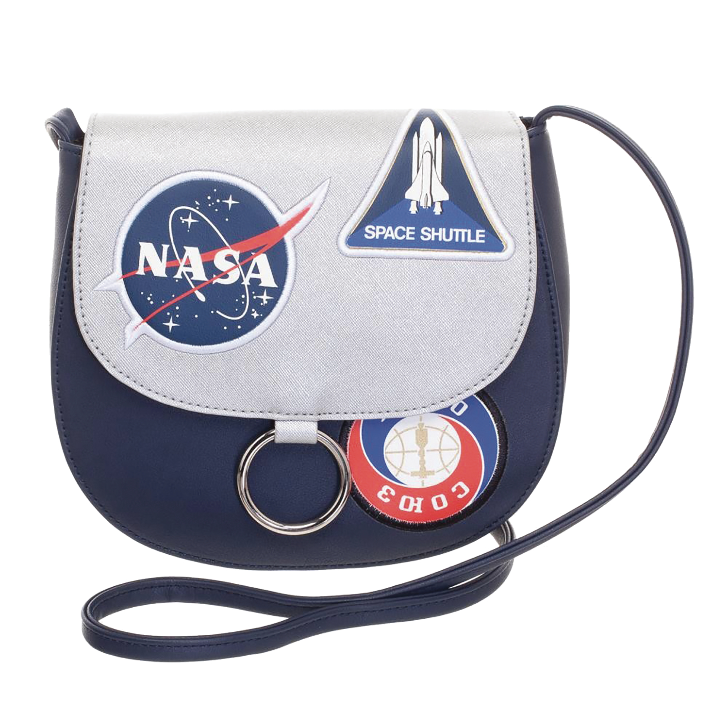 NASA SADDLEBAG W/PATCHES