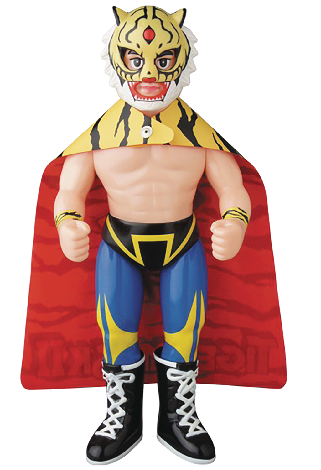 ORIGINAL TIGER MASK SOFUBI VINYL FIG PLUSH DOLL VER