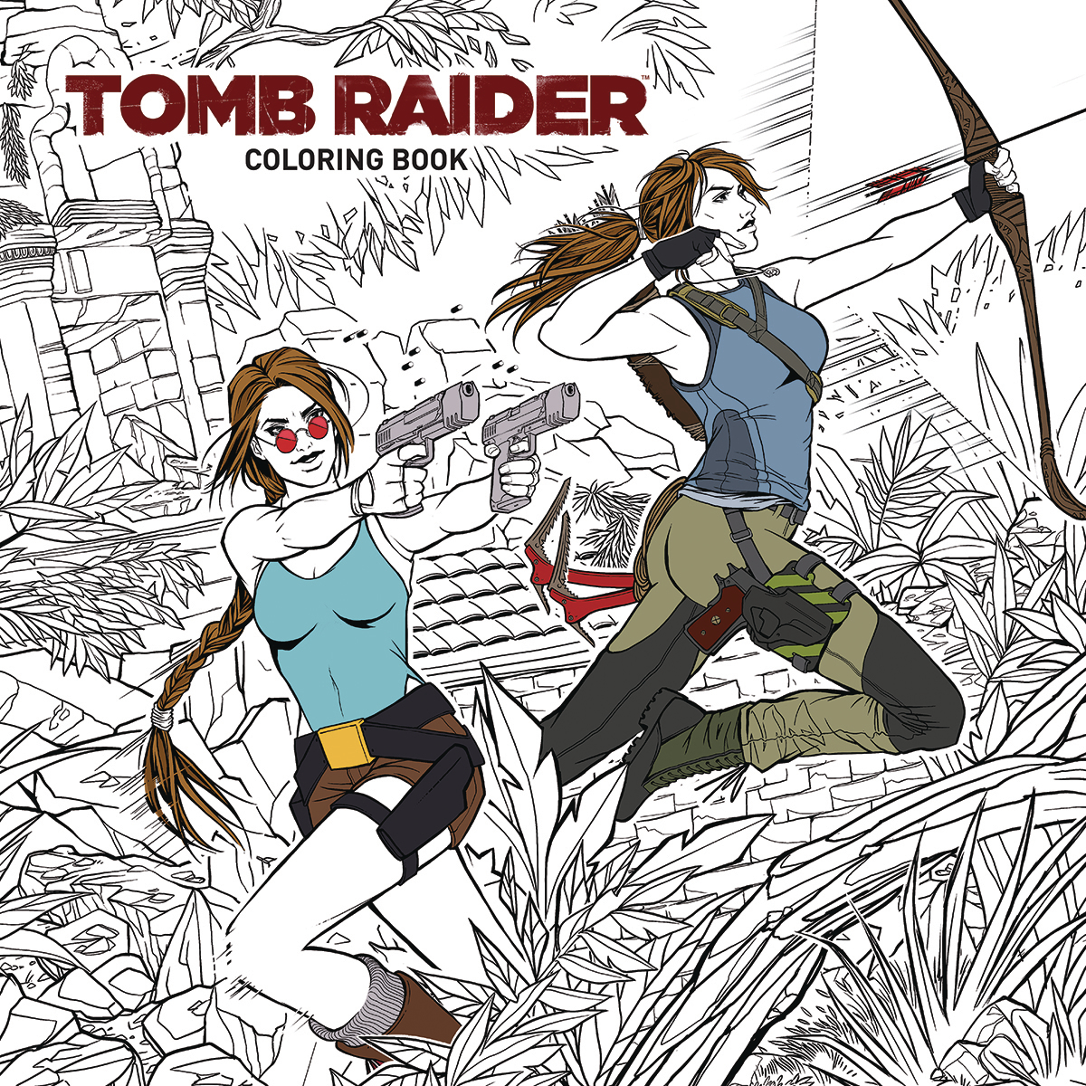TOMB RAIDER COLORING BOOK TP (SEP180308)