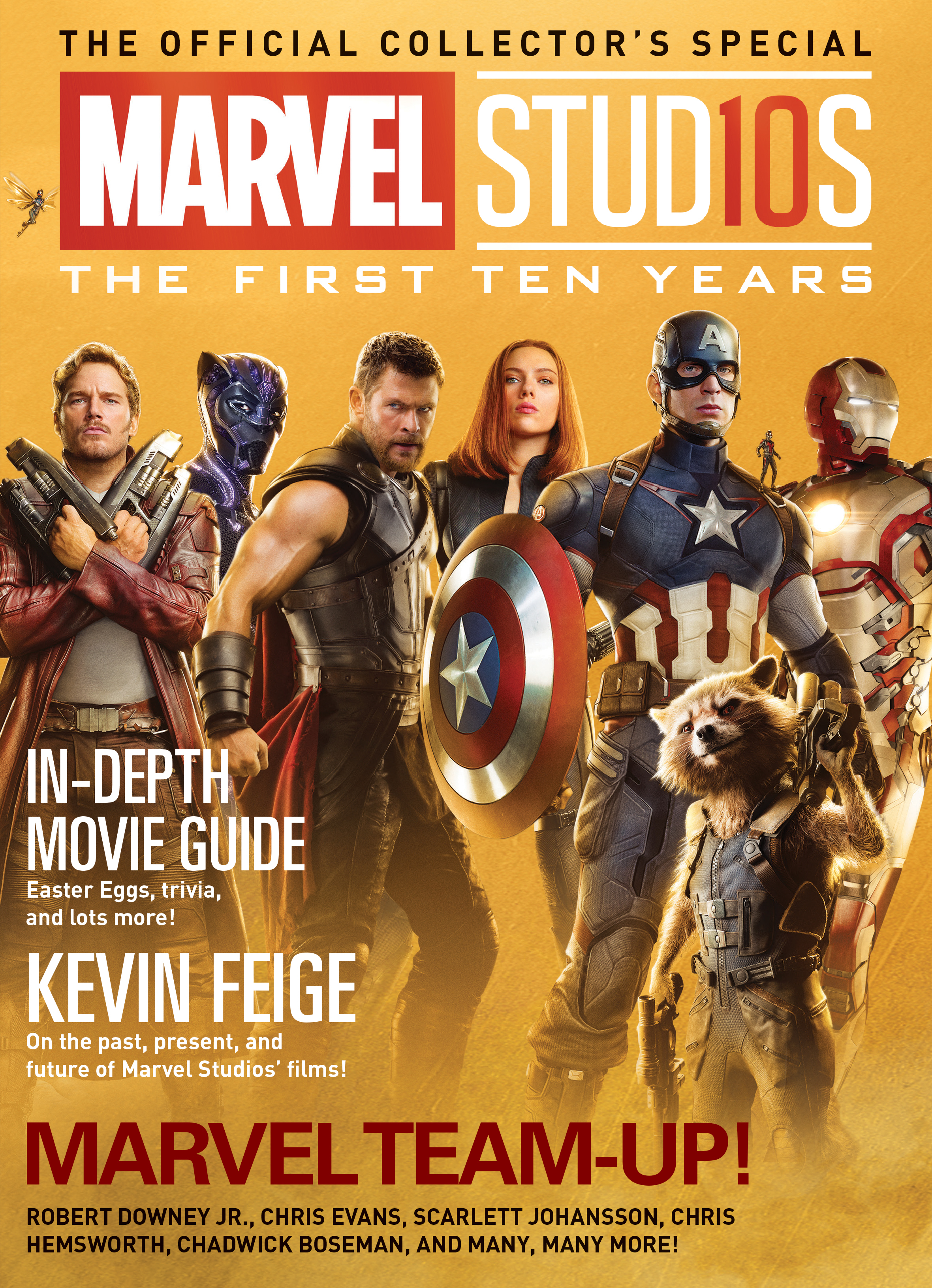 MARVEL STUDIOS FIRST 10 YEARS NEWSSTAND ED