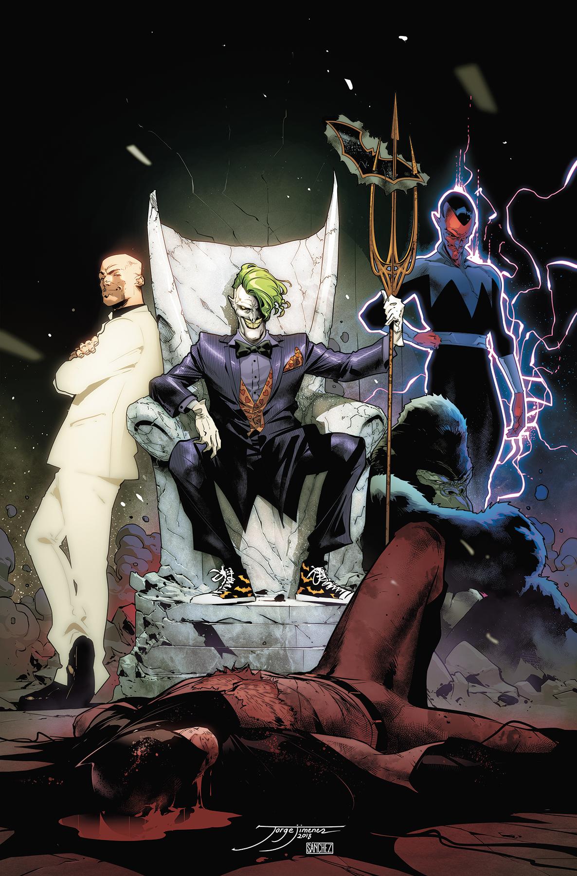 justice league #12 drowned earth Jorge Jimenez