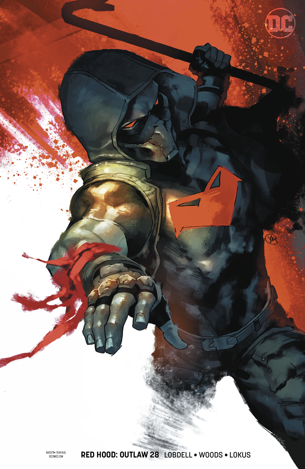 RED HOOD AND THE OUTLAWS #28 VAR ED