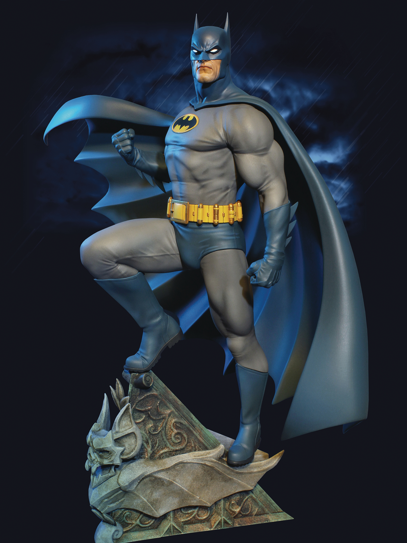 BATMAN SUPER POWERS MAQUETTE