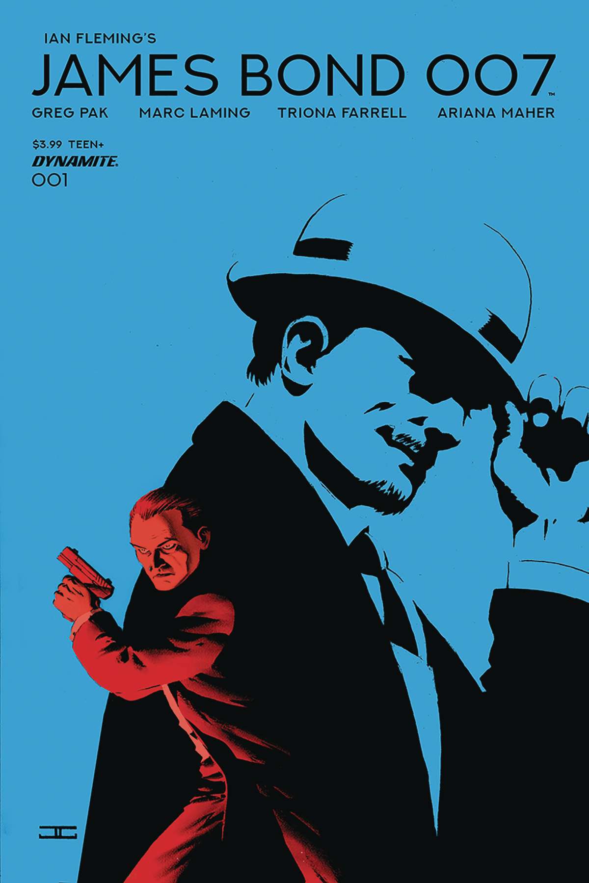 JAMES BOND 007 #1 CVR B CASSADAY