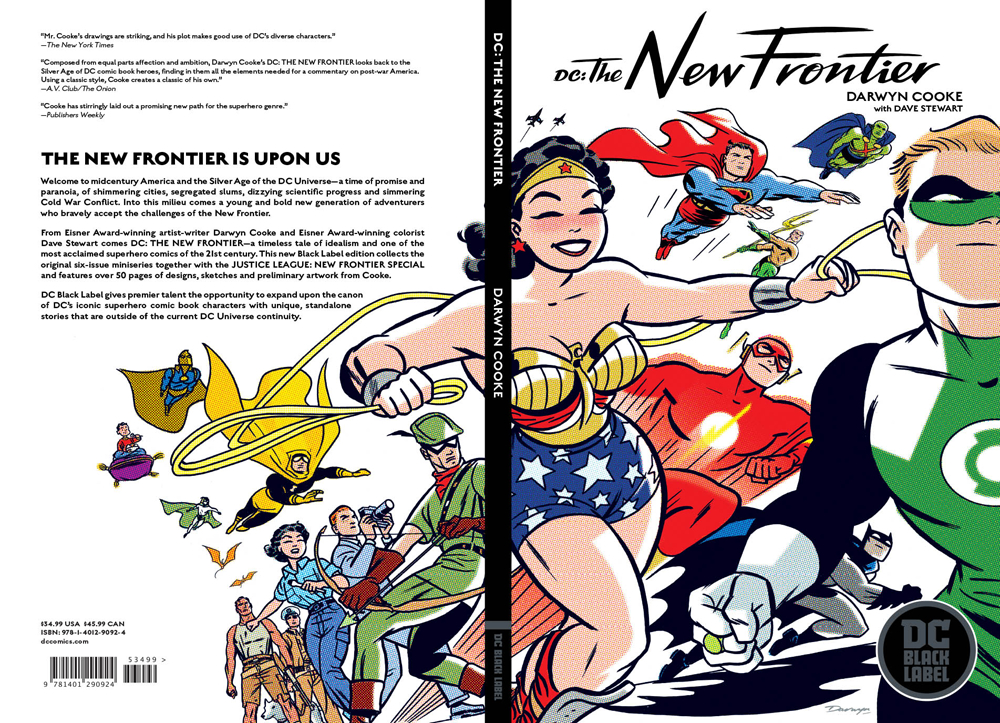 DC THE NEW FRONTIER TP BLACK LABEL