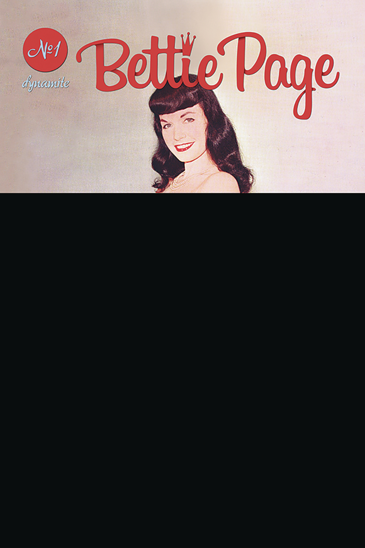 BETTIE PAGE #1 BLACK BAG PHOTO VAR (MR)