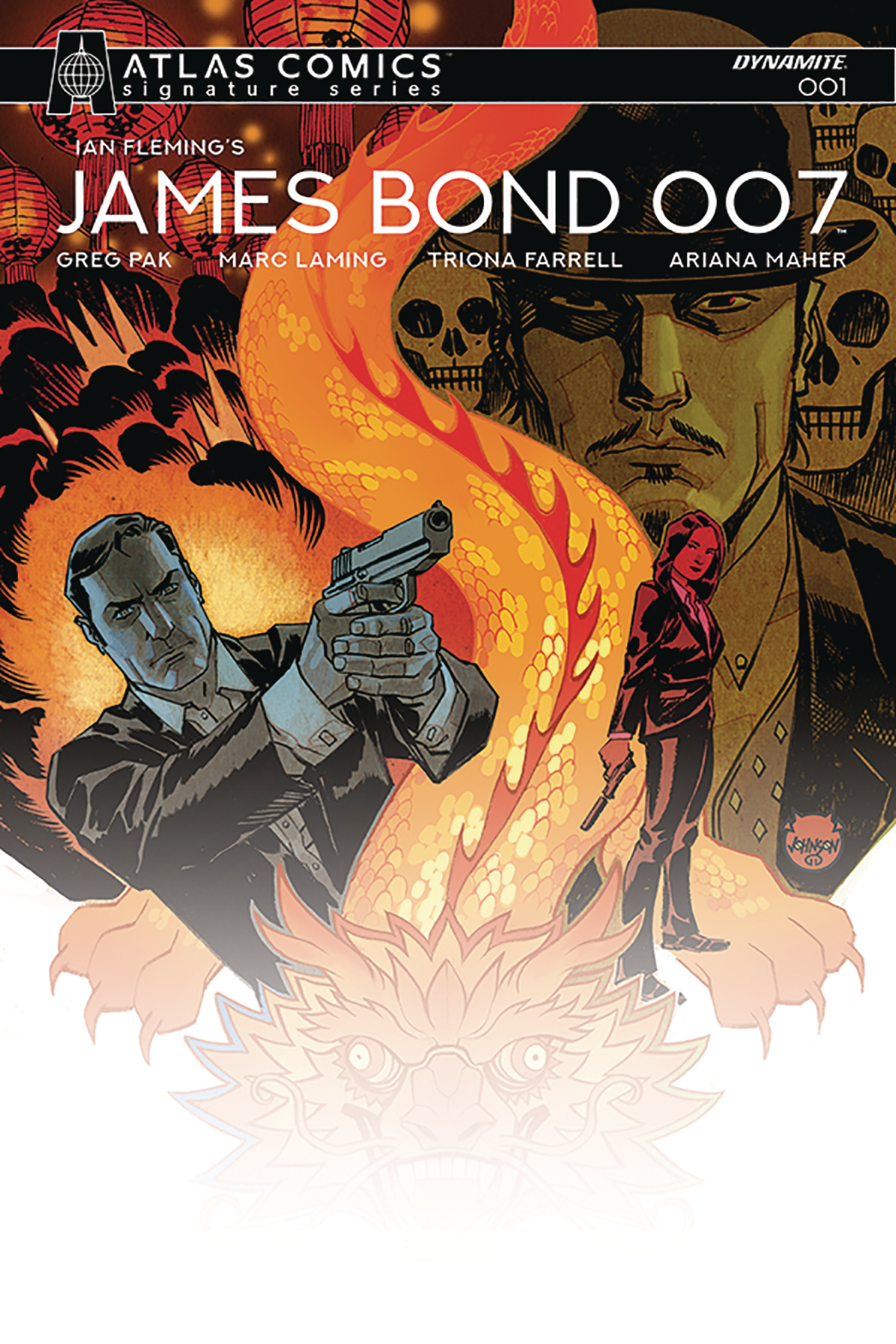JAMES BOND 007 #1 ATLAS PAK SGN ED