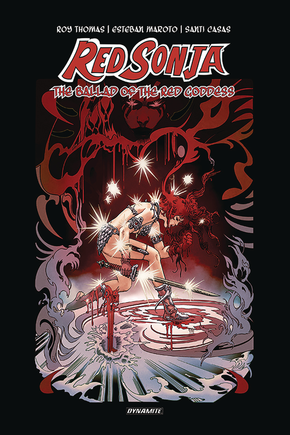 RED SONJA BALLAD RED GODDESS HC THOMAS SGN ED