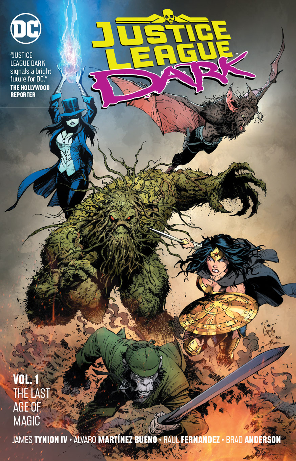 JUSTICE LEAGUE DARK TP VOL 01 THE LAST AGE OF MAGIC (DEC1806