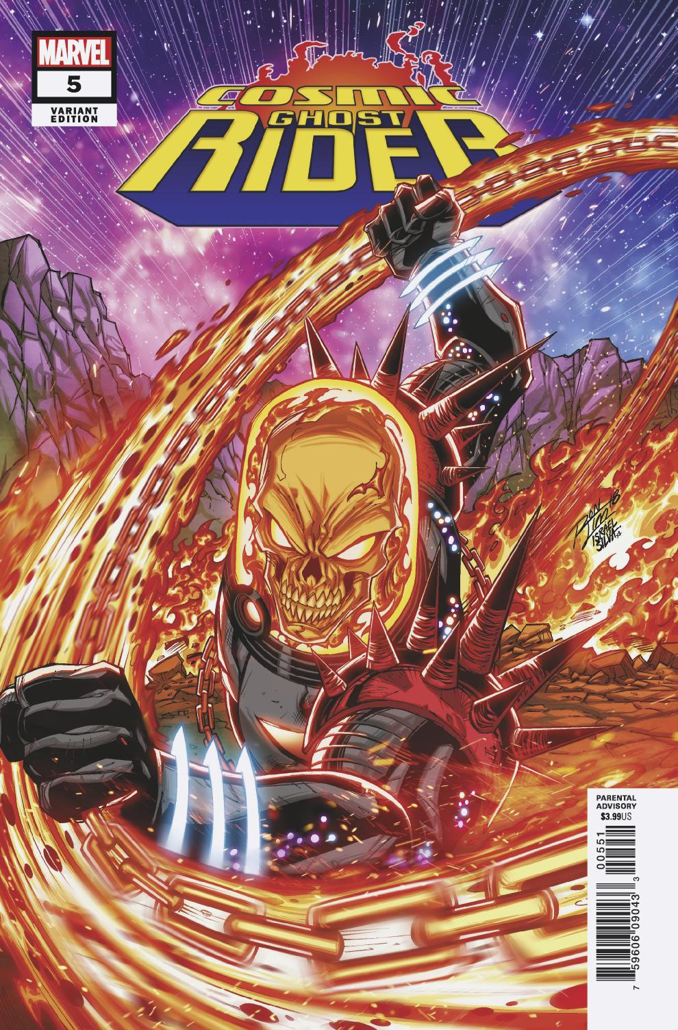 COSMIC GHOST RIDER #5 (OF 5) LIM VAR