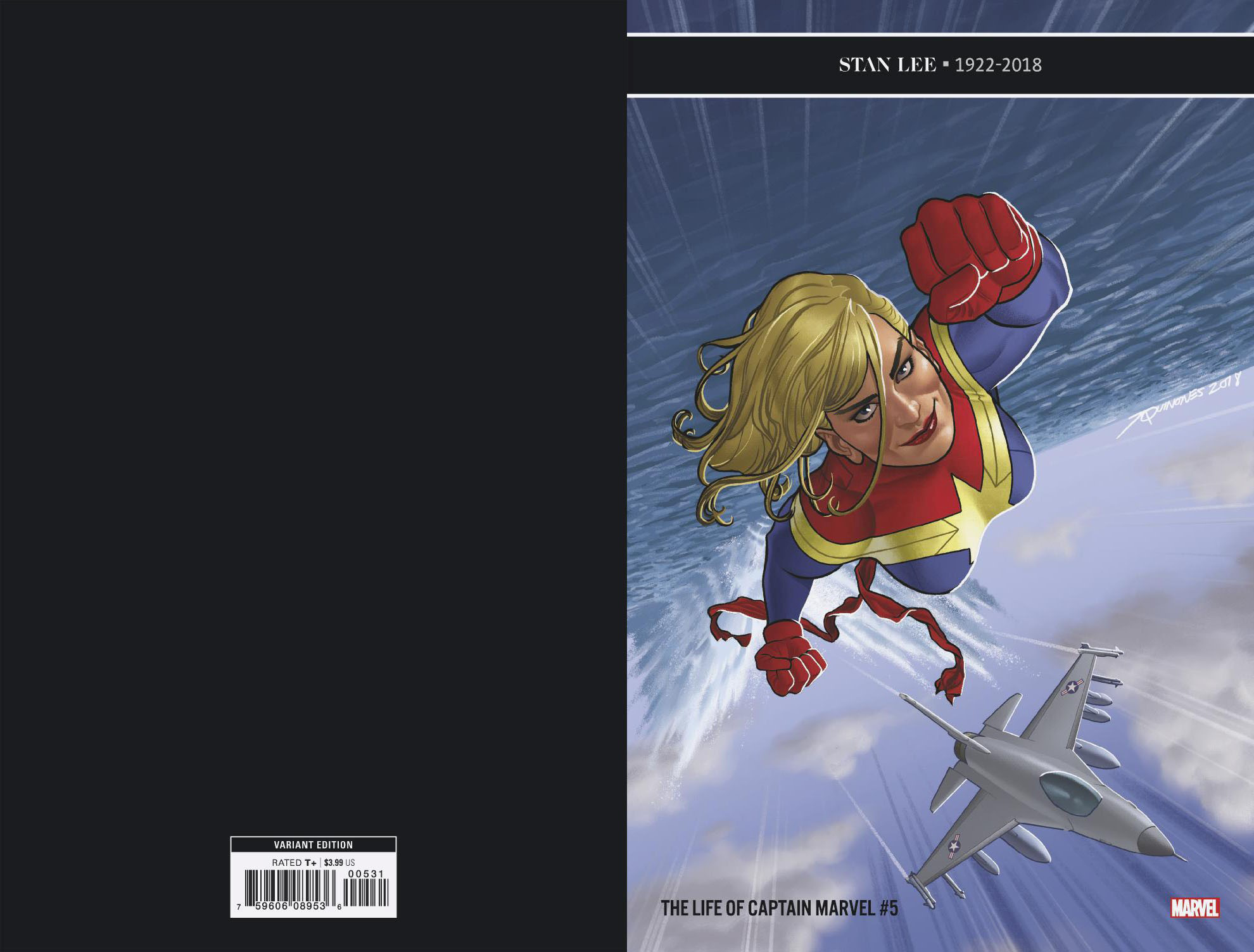 LIFE OF CAPTAIN MARVEL #5 (OF 5) QUINONES VAR