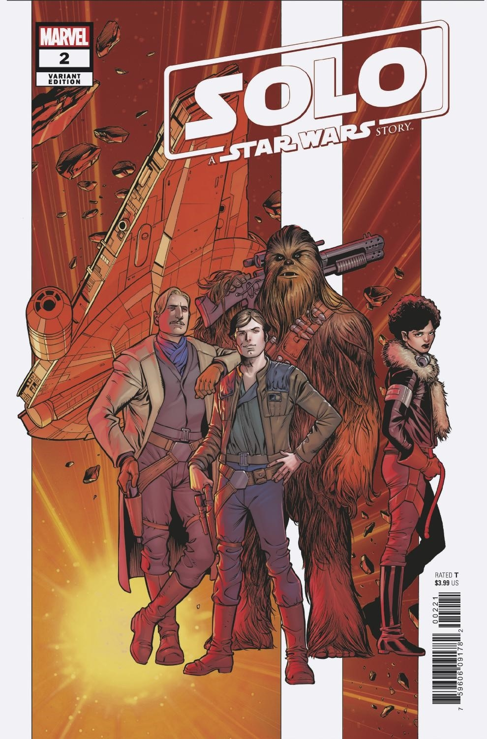 STAR WARS SOLO ADAPTATION #2 (OF 5) PACHECO VAR