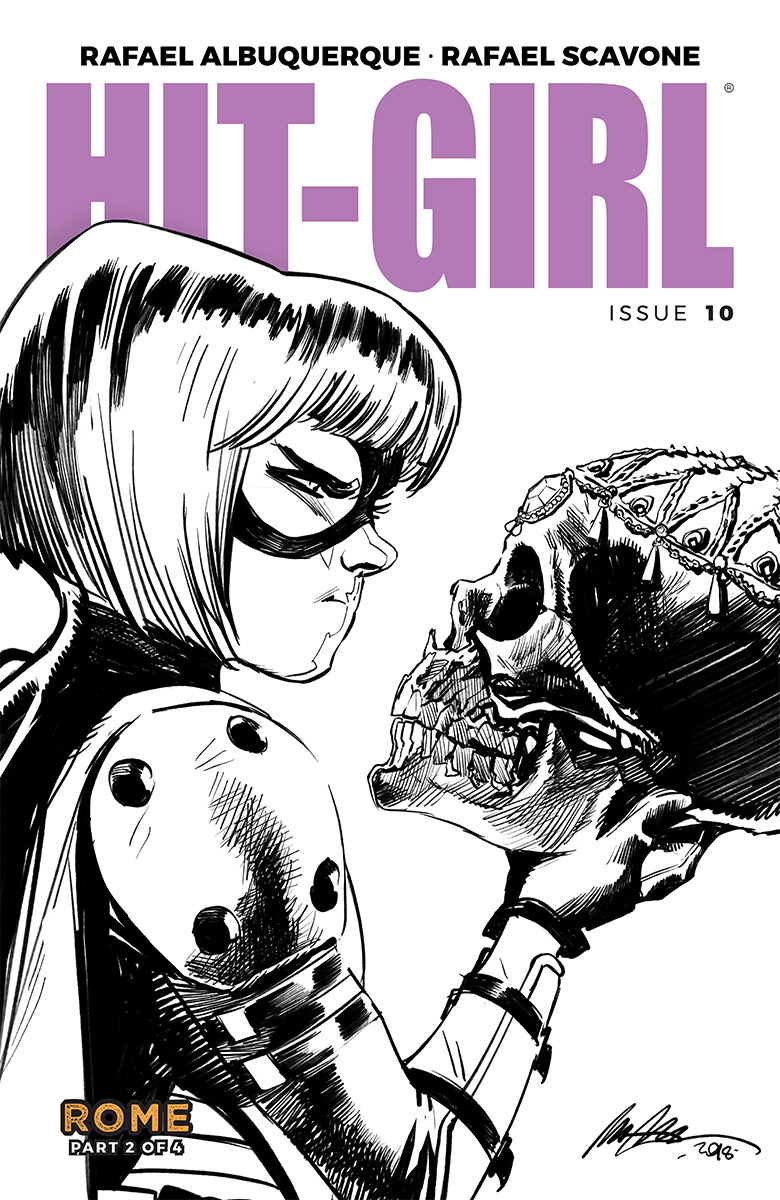 HIT-GIRL #10 CVR B ALBUQUERQUE (MR)