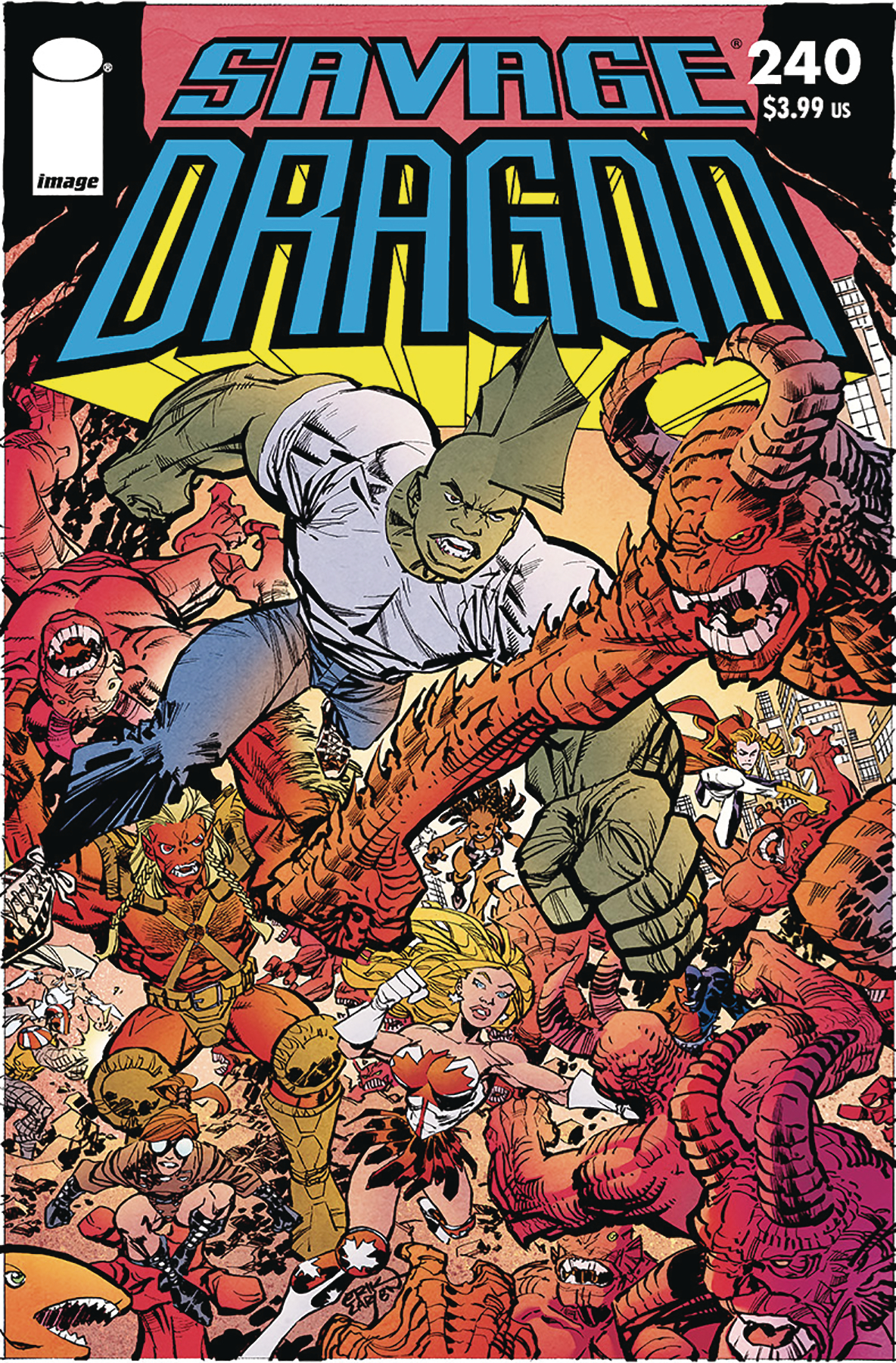SAVAGE DRAGON #240 (MR)