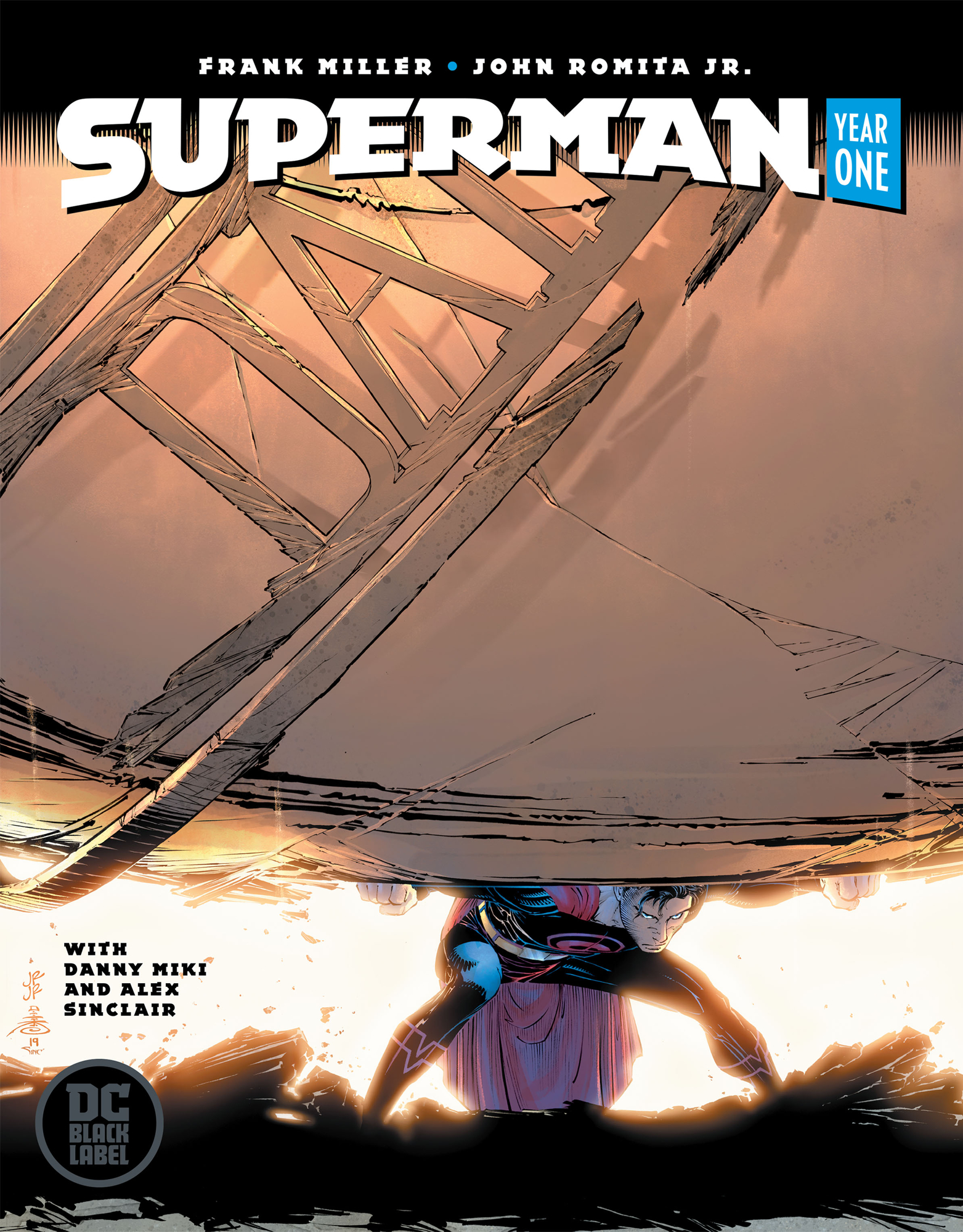 Image result for superman year one hc