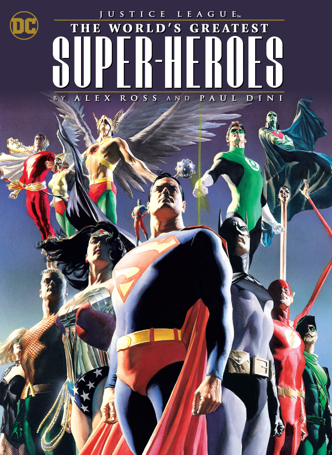 JUSTICE LEAGUE WORLDS GREATEST HEROES BY ROSS & DINI TP