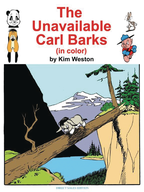 UNAVAILABLE CARL BARKS IN COLOR SC
