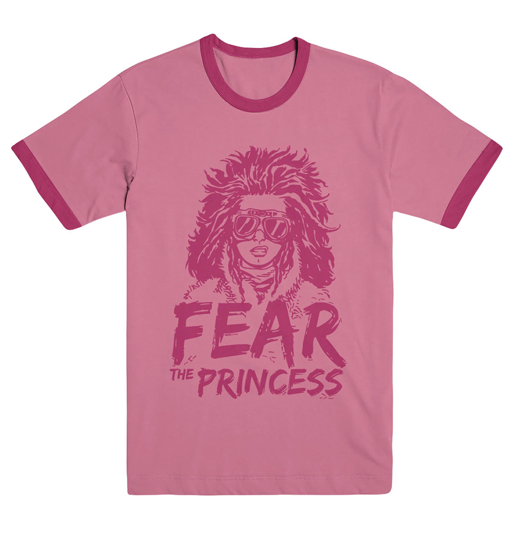 WALKING DEAD FEAR THE PRINCESS T/S XXL