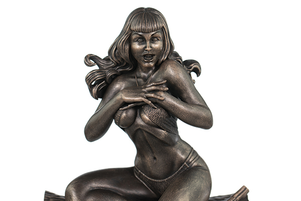 TERRY DODSON BETTIE PAGE BRONZE STATUE