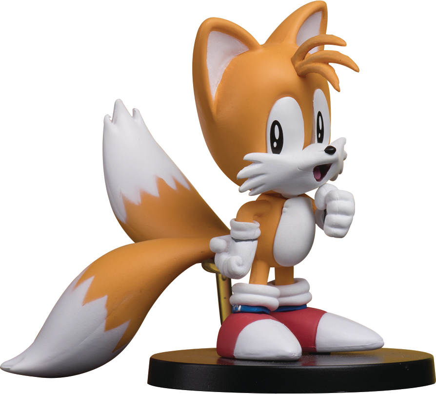 SONIC THE HEDGEHOG BOOM8 VOL 3 TAILS PVC FIG