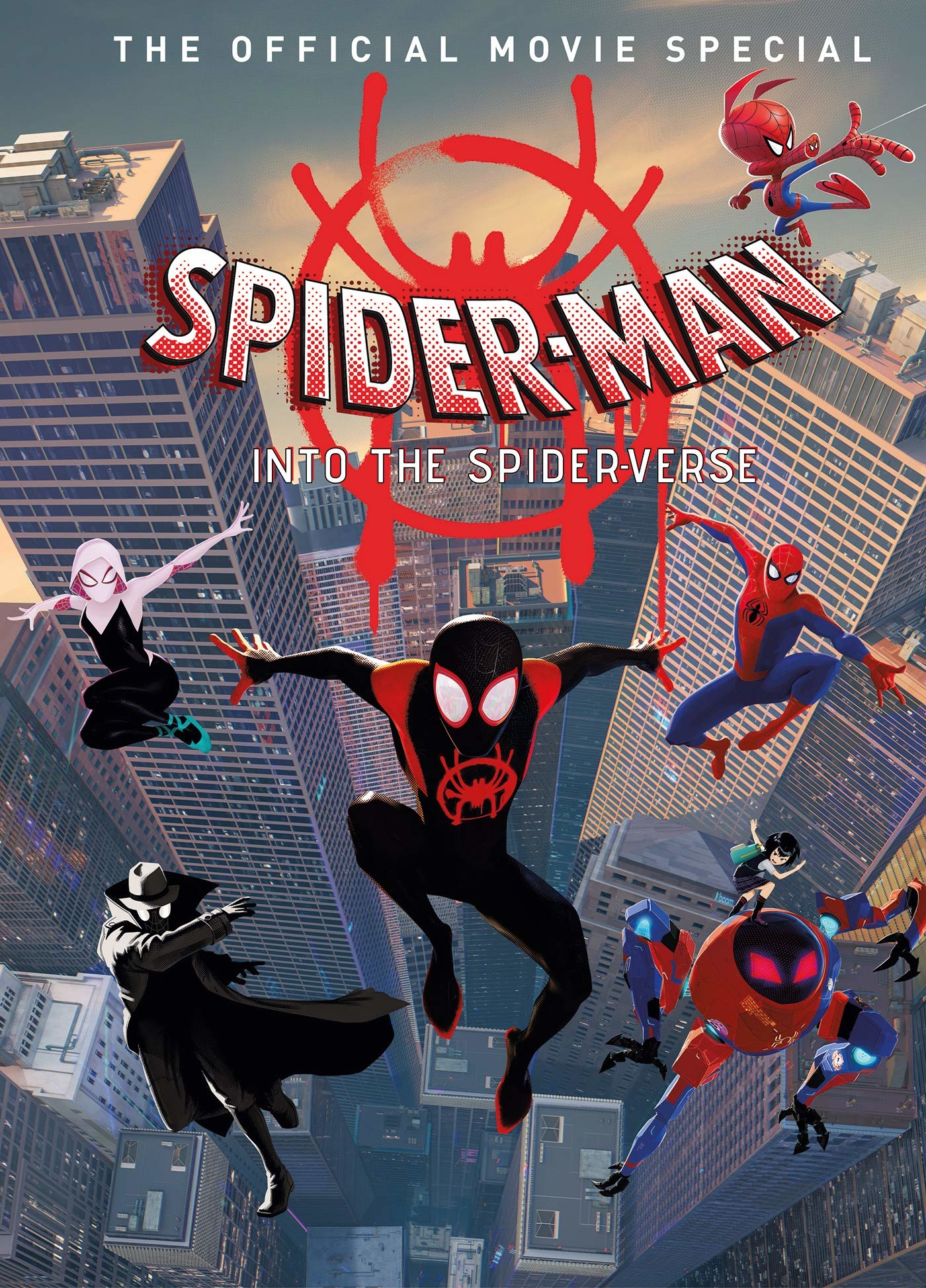 SPIDER-MAN INTO SPIDER-VERSE ART OF THE MOVIE HC (O/A)