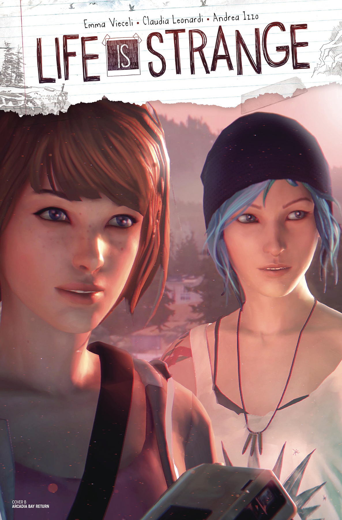 LIFE IS STRANGE #2 CVR B GAME ART