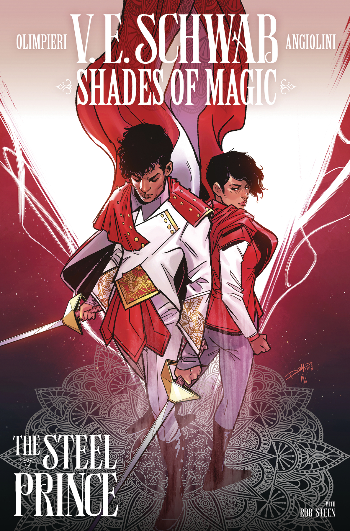 SHADES OF MAGIC #3 (OF 4) STEEL PRINCE CVR B INGRANATA