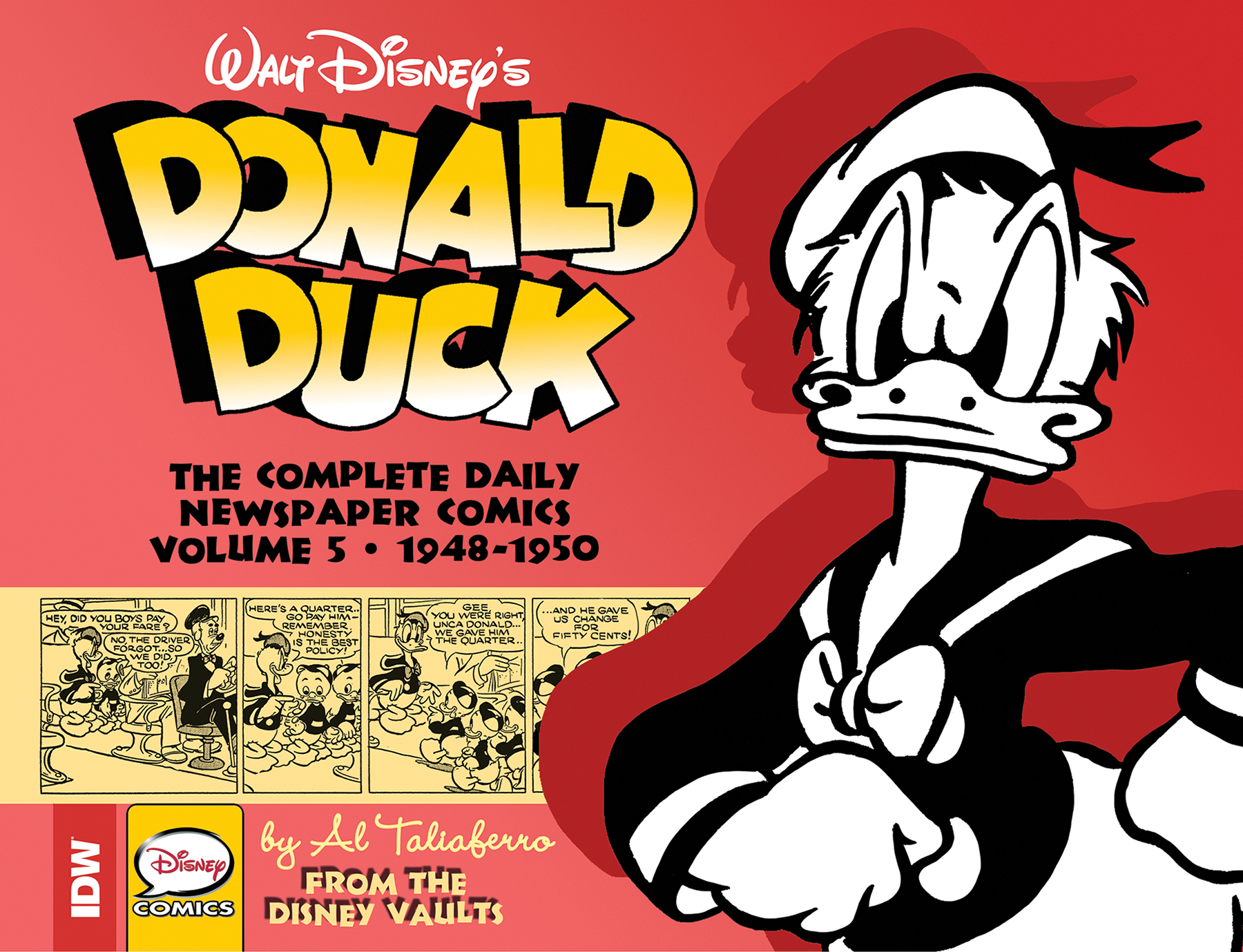 WALT DISNEY DONALD DUCK NEWSPAPER COMICS HC VOL 05