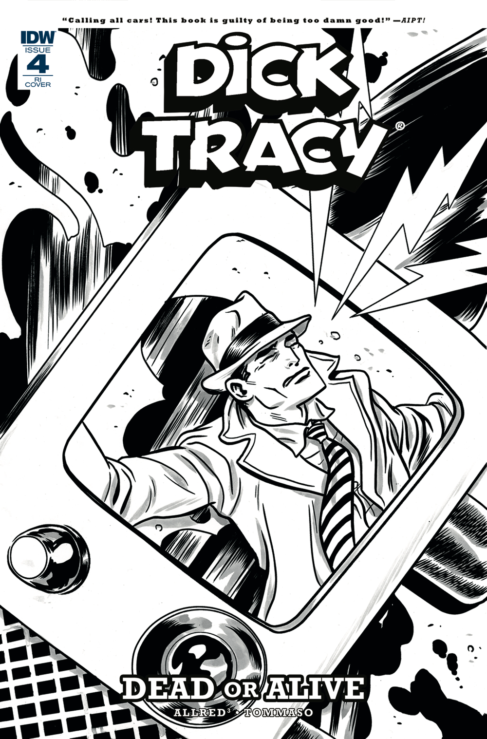 DICK TRACY DEAD OR ALIVE #4 (OF 4) 10 COPY INCV ALLRED