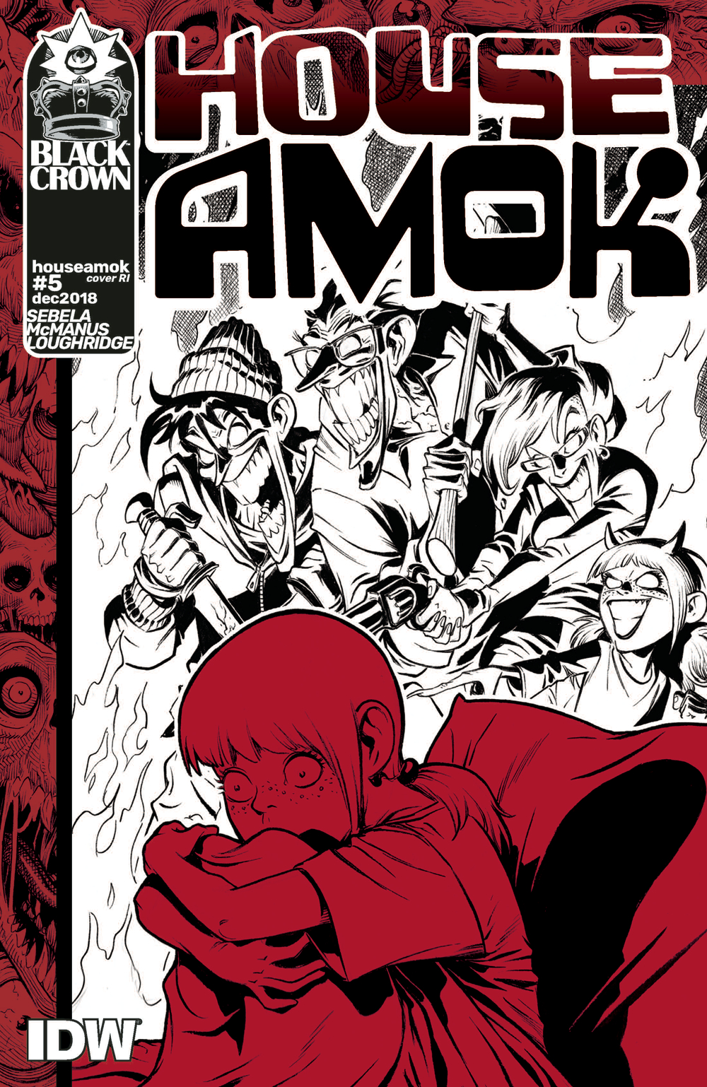 HOUSE AMOK #5 10 COPY INCV MCMANUS