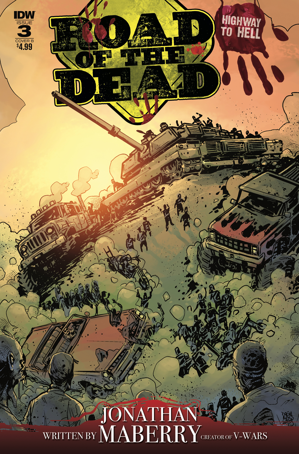 ROAD OF THE DEAD HIGHWAY TO HELL #3 CVR B MOSS