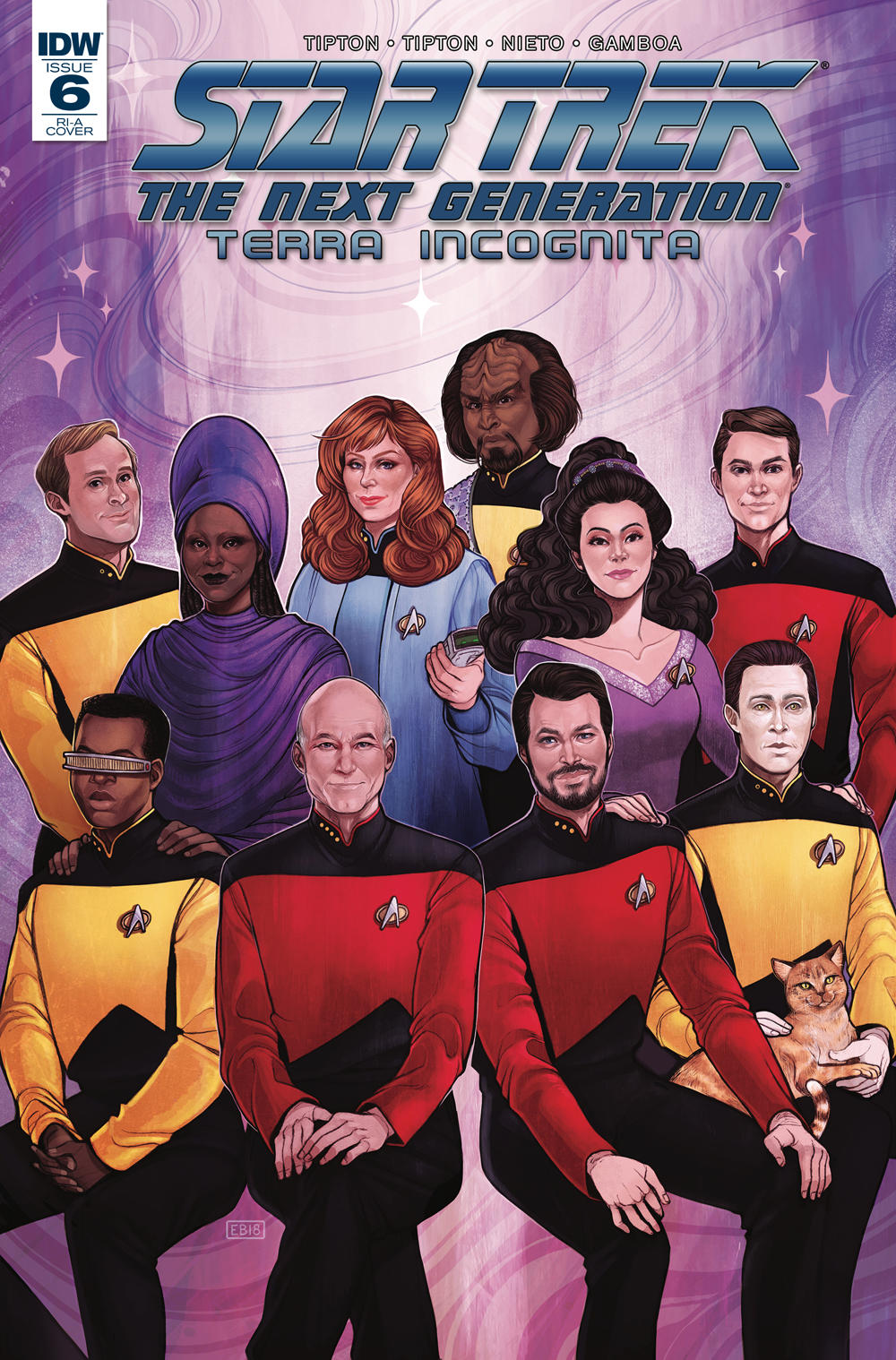 STAR TREK TNG TERRA INCOGNITA #6 10 COPY INCV BEALS