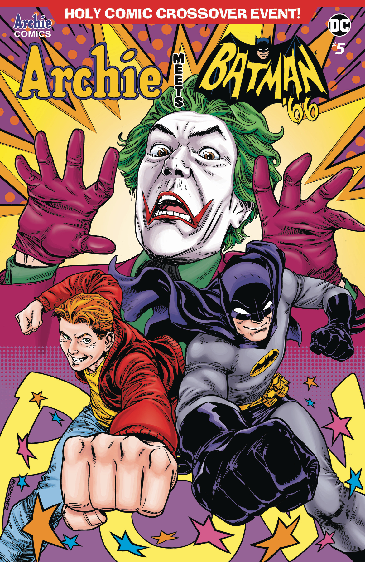 ARCHIE MEETS BATMAN 66 #5 CVR F SMITH