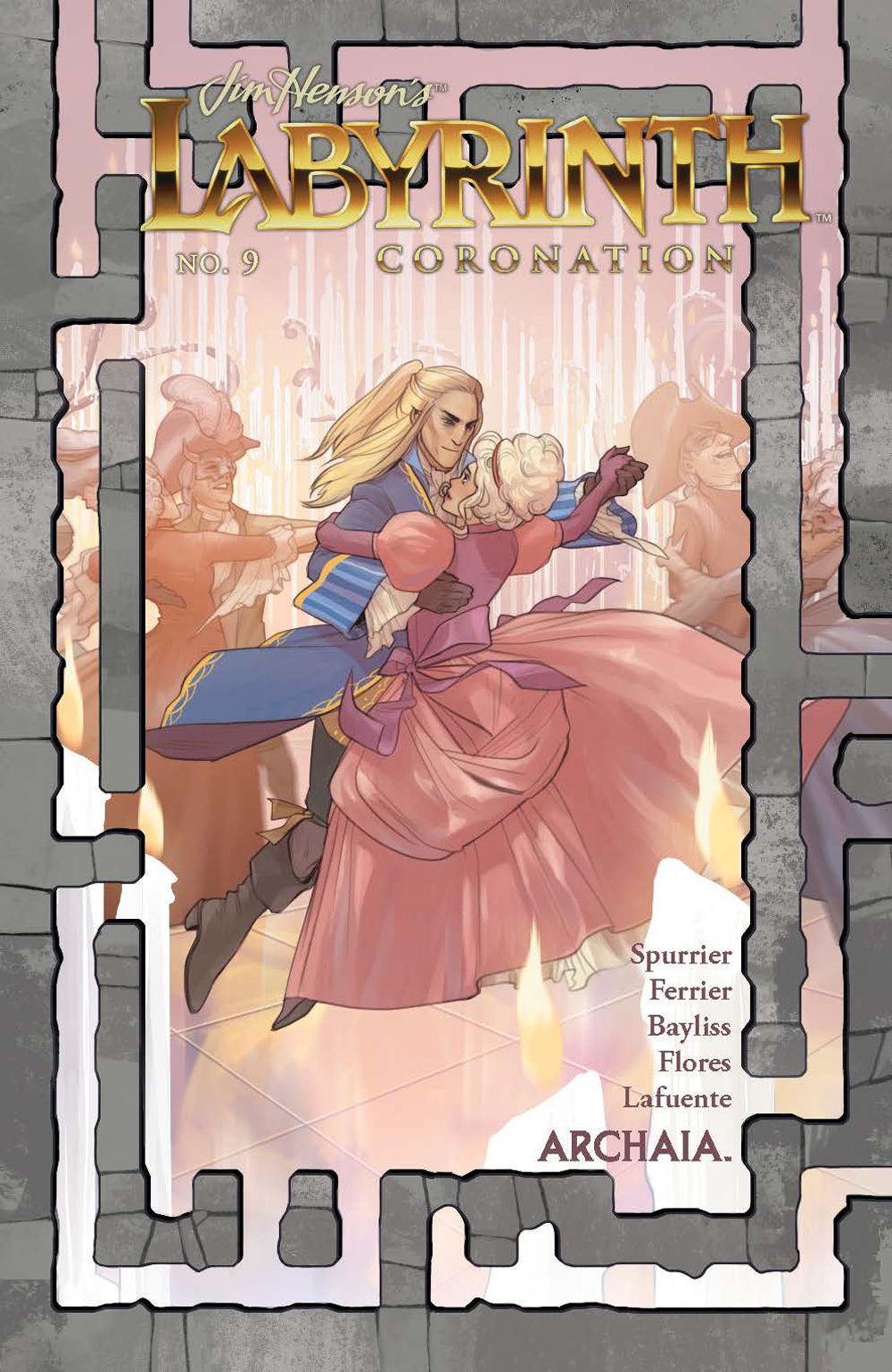 JIM HENSON LABYRINTH CORONATION #9 (OF 12)