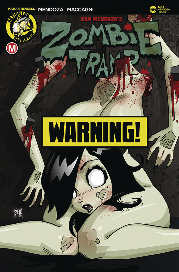 ZOMBIE TRAMP ONGOING #55 CVR F MENDOZA RISQUE B (MR)