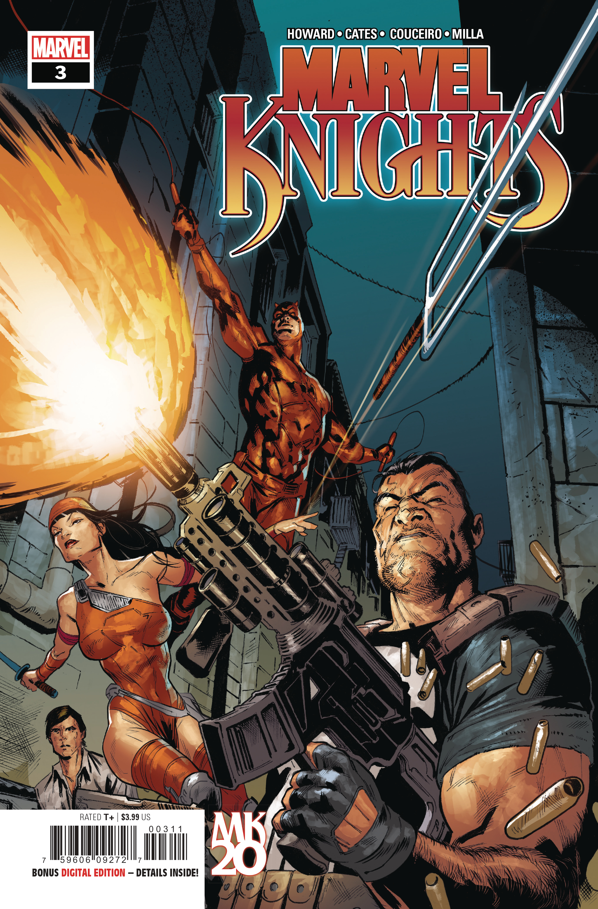 MARVEL KNIGHTS 20TH #3 (OF 6)