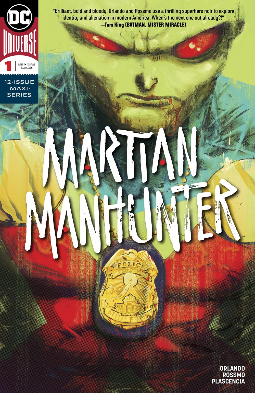 MARTIAN MANHUNTER #1 (OF 12)