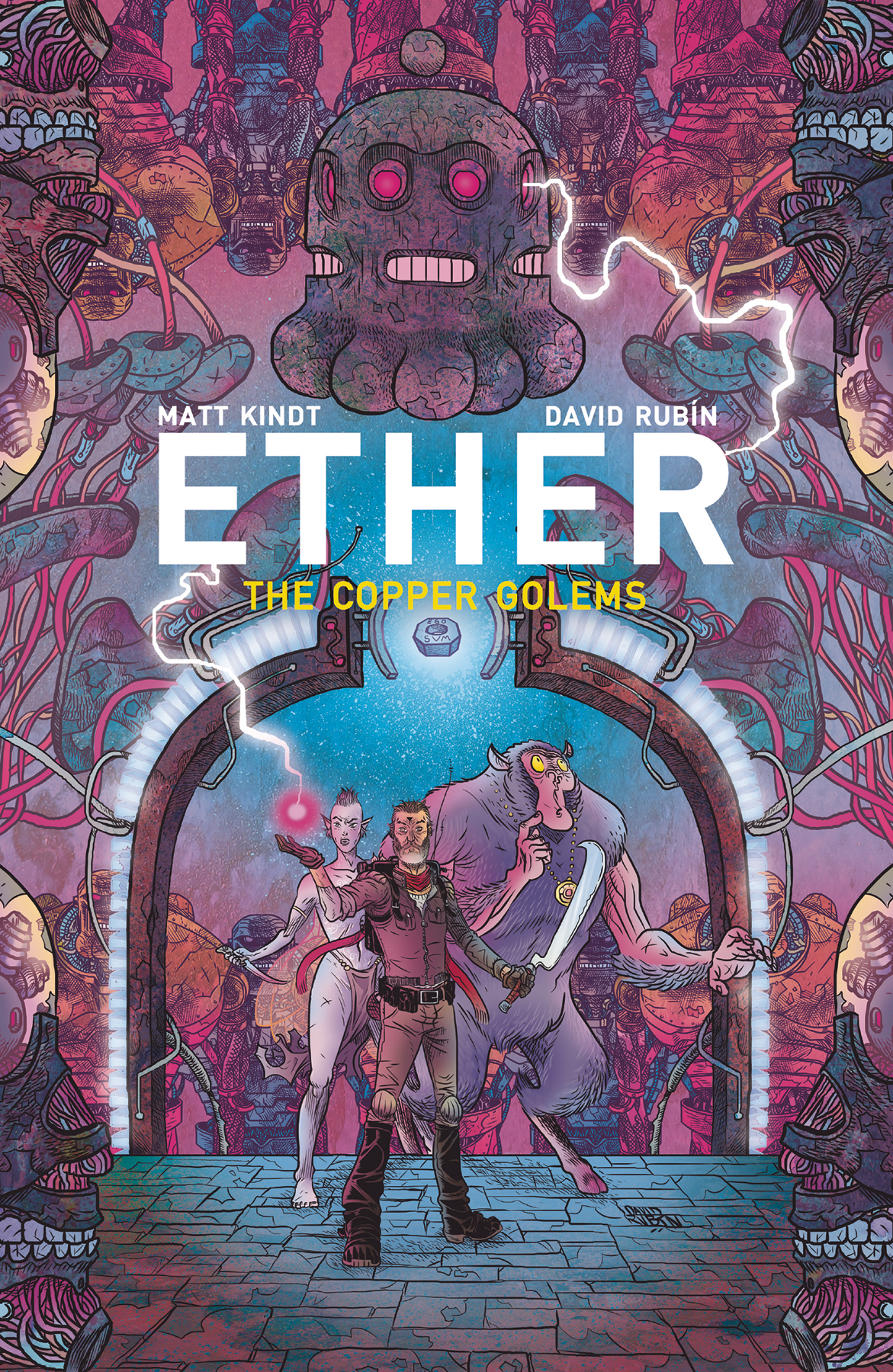 ETHER II TP VOL 02 COPPER GOLEMS (OCT180313)