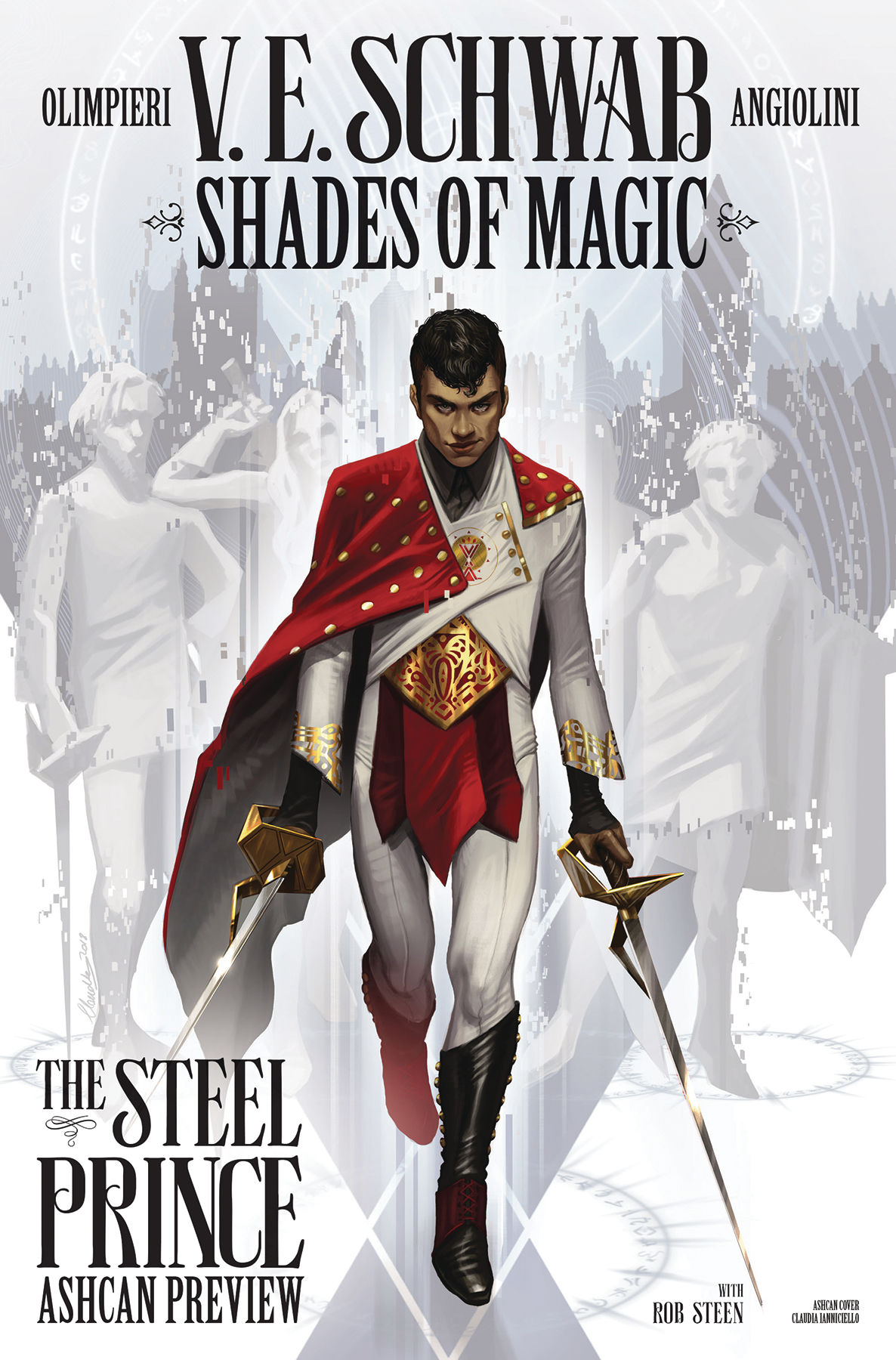 SHADES OF MAGIC PRINCE OF STEEL SDCC EX ASHCAN